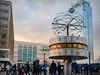 Clock (HunterProduction) Tags: 2018 berlin berlino travel trip viaggio avventura adventure alexanderplatz clock orologio guys boys girls to street photography place square people city