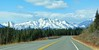 Ride along with me in Alaska (JLS Photography - Alaska) Tags: alaska alaskalandscape road landscape landscapes lastfrontier mountains mountain mountainpeaks trees spruce jlsphotographyalaska travel spring april