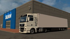 Odense (DaveyY PhotoS) Tags: man tgx xxl cool liner denmark ets2 2 simulator truck euro lkw kögel