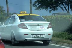 Proton Persona Taxi (CooverInAus) Tags: proton persona taxi kota kinabalu sabah borneo malaysia number license registration vehicle plate car sedan