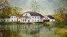 Spring, spring, spring! (BirgittaSjostedt) Tags: architecture gysinge landscape mansion mainbuilding courtyard use industrialenvironment reflection water bird our outside scene panoramic sweden texture
