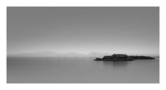 Sticks and Stones (Nick green2012) Tags: longexposure blackandwhite 21 fishing poles breakwater silence illume tuscany