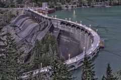 DIABLO LAKE DAM (LOURENḉO Photography) Tags: dam lake forest diablo lakediablo diablolake pnw aqua rossdam northcascades