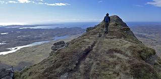 Unique ridge of Suilven