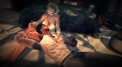 #176 Relaxing moment (ЙёКσ) Tags: secondlife sl ckeyposes couple love fashion avatar virtualavatar secondlifephotographer beautifulscene