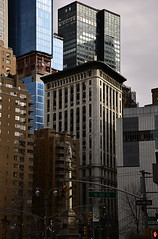 Hello Columbus (sjnnyny) Tags: columbuscircle monument nyc manhattan stevenj sjnnyny architecture officebuildings streetscape cityurban skyline nikond750 afsnikkor2485mmf3545gedvr