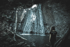 DSC_0242-2 (Hilðr) Tags: nature wardruna waterfall hiking norsespirit norseinspiration norsesoul norse