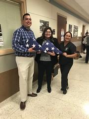 Neptune Society San Antonio, TX - Flag Folding Workshop with Local Mortuary School