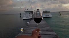Even between shadows we can see the light... (juanvicenteacevedorueda) Tags: ocean sea wine cup landscape