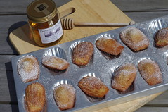 French Madeleine cakes (My healthy kitchen) Tags: madeleine cakes french bakingtin honey local derbyshire homemade lovetocook alfresco eating baking food tasty england pentax
