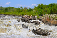 After Spring Rains (karl.wolfgang (Appalachian Son)) Tags: river park rapids nature spring virginia potomac bible water