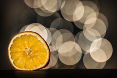 Orange Bokeh (++ Martin ++) Tags: bokehlicious orange dry fruit bokeh slice tiefenschärfe schärfentiefe canon ef 85mm f18 usm
