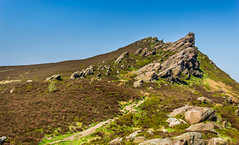 Ramshaw Rocks (Ian Emerson) Tags: peakdistrict outdoor hiking hikers landscape derbyshire greenery rocks sky blue beauty scenic staffordshire gritstone grid referencesk019624