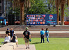 Waiting For the Expo to Begin (Robb Wilson) Tags: freephotos losangeles marchforsciencela2018 pershingsquarepark downtownla science scientistspeakers
