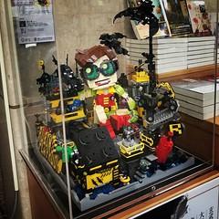 Robin's playroom display (LEGO 7) Tags: robin lego moc display batman