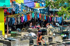 DSC_0178.jpg (mark.tucker9) Tags: bombai laundry mumbai night people slum