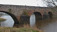 Devorgilla Bridge, Dumfries, Scotland (Alta alatis patent) Tags: dumfries scotland devorgilla bridge arches ancient historic sandstone