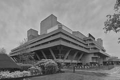 National Theatre (Michael J Lawlor) Tags: nationaltheatre london southbank bw monochrome brutalist olympuszuikoom2835shift