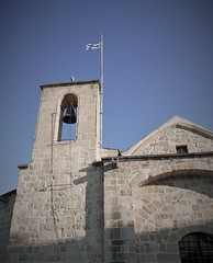 Greek Flag (roomman) Tags: 2018 cyprus nicosia conference sump sump2018 sustainable urban mobility program programme europe europeanunion commission comisson european union logistic logistoics trip week meet meeting interesting logistik logistiks logistics public sector transport transportation old town city tour wlaking walk guide guided exploring holy churhc orthodox greek church tower building flag concept project projects