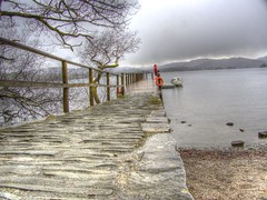 Let's See Where Today Takes Us (RS400) Tags: lake district travel water boat jetty hdr olympus sky stones landscape uk photography north west cumbria wow amazing wicked