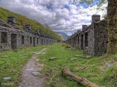 Anglesey Barracks, Dinorwic (Ian Gedge) Tags: uk britain wales cymru dinorwic quarry slate anglesey barracks llanberis snowdonia