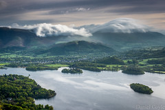 Keswick (Daniel Coyle) Tags: keswick derwentwater lake lakedistrict dawn clouds longexposure picturesque trees forest mountains hills fells catbells danielcoyle nikon nikond7100 d7100 uk england cumbria nationaltrust natural nature blur wainwright