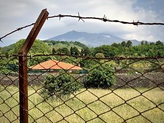Etna, fenced