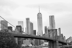 Skyline (Avaiyang) Tags: newyork newyorkcity skyline brooklynbridge city brooklyn bridge sea eastsea nycphotographer newyorker manhattan nyclife newyorkworld oneworldcenter dumbo newyorklife nycityworld ny