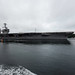 USS John C. Stennis transits Puget Sound while returning to its homeport in Bremerton, Washington