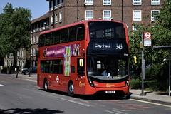 Go-Ahead London subsidiary London Central Alexander Dennis Enviro400H MMC (EH266 - SN18 KLX) 343 (London Bus Breh) Tags: goahead goaheadgroup goaheadlondon londoncentral alexander dennis alexanderdennis alexanderdennislimited adl alexanderdennisenviro400hmmc enviro400hmmc e400h mmc hybrid hybridbus hybridtechnology eh eh266 sn18klx 18reg london buses londonbuses bus londonbusesroute343 route343 brockley frendsburyroad tfl transportforlondon