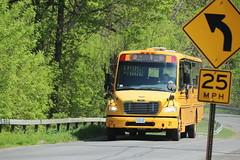 Freeman Bus Corp. #21 (ThoseGuys119) Tags: freemanbuscorp schoolbus watertownny thomasbuilt freightliner fs65 c2 saftliner yellowbumpers