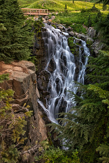 Rainier's Myrtle Falls