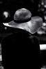 Wear My Hat (sdupimages) Tags: lowkey noirblanc blackwhite chapeau hat monochrome bw nb rue street parisienne paris montmartre candid
