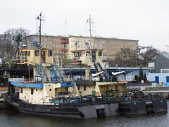 Nosorozec S-01 und S-05 (Parchimer) Tags: schubboot pushboat towboat pousseur pchacz duwboot spintore empurradorfluvial binnenschiff tolómotorhajó pushertug szczecin stettin oder odra