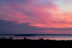 Sunrise 4.25am 21st May 2018  (7 of 9) (Philip Gillespie) Tags: edinburgh sunrise scotland sun sky clouds sea forth canon 5dsr nature morning water landscape seascape pink orange blue hour peach peaceful peace tranquility