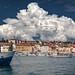 Spectacular Cloud over Rovinj