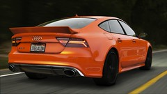 Audi RS7 2017| GTA V (Stellasin) Tags: angeles gaming game beauty beautiful buildings blur car cars city clouds downtown engine weather reflection people flare fog graphics gtav gta grass hot highway photography sky los mods mountains motion road trees screenshot sun sunrise v water