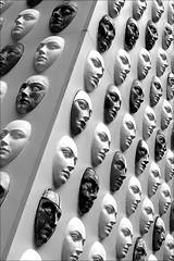 among a hundred faces (bostankorkulugu) Tags: larinascente mask faces masks venetianmasks venetianmask milan milano lombardy lombardia italy italia