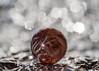 Marble / foil / bokeh (Spannarama) Tags: glassmarble marble foil tinfoil aluminiumfoil shiny sparkle bokeh macro meyeroptik domiplan 50mm raynox dcr250 meyeroptikdomiplan50mm