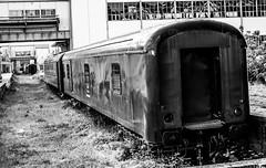 // eskiyoruz // (photographerofearth) Tags: locomotive vagon train tren izmit seka siyahbeyaz