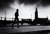 Running in style (gojogoj) Tags: stockholm street