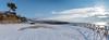 FAB_0697-Pano (Fabrizio Aloisi) Tags: neve snow santamarinella smarinella eccezionale spiaggia innevata shore beach white bianco bianca fiocchi mare nevealmare sea water sand snowy fabrizioaloisi nikond5500