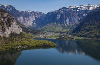 Lake Hallstatt in Austria