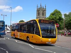 trent barton 804 Ilkeston (Guy Arab UF) Tags: trent barton 804 yj11enh optare versa v1110 bus ilkeston derbyshire wellglade buses wellgladegroup