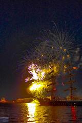 P1030952 (chromaticographie) Tags: mercedes segelschiff feuerwerk fireworks hafen hafenfest wadj wochenendeanderjade wilhelmshaven nordsee nordseeliebe fotofrauen