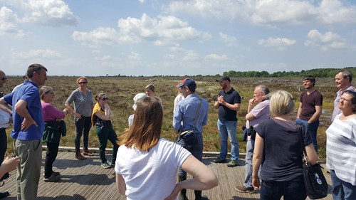 IRWC visit and public event at Scohaboy Bog, Cloughjordan, May 2018