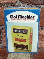 Waco Slot Machine (The Moog Image Dump) Tags: lime green cordless waco japan japanese toy game plastic slot machine novelty