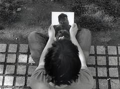 Expression Plurielles 01/06 (kyopé) Tags: canonet argentique kodak kodakfilm film filmcamera filmphotography ishootfilm 35mm noiretblanc noir blackandwhite black white blanc reflect reflet miroire mirror ql 17 canonetql17 analog