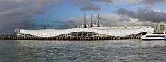 The Cloud NZ. (Bernard Spragg) Tags: auckland waterfront wharf sony weather sky clouds