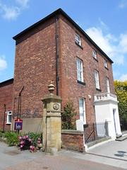 Photo of Oswestry School house in Church Street.